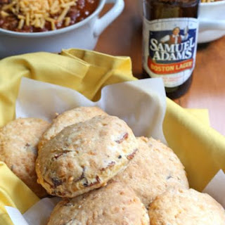 Bacon Beer and Cheddar Biscuits