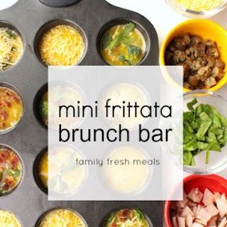 Mini Frittata Brunch Bar