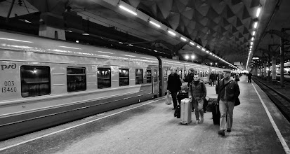 Photo: Moscow trainstation