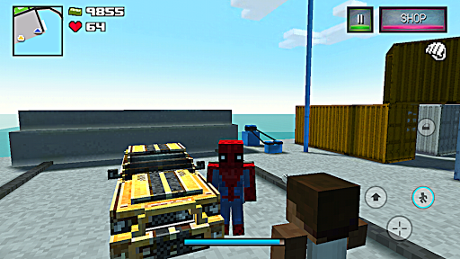 Spider Hero Story - Player Battle Craft  trampa 2