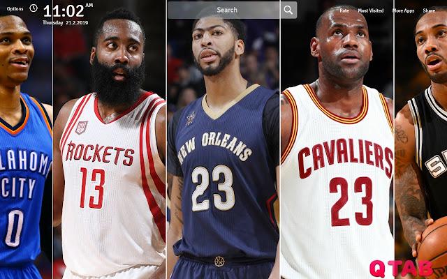 NBA Wallpapers Theme NBA New Tab