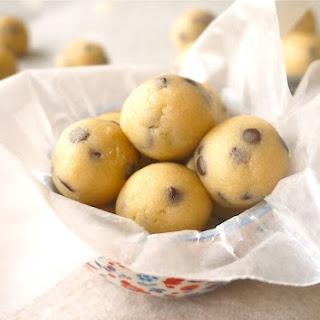 Dulce de Leche Cookie Dough Balls (paleo, GF)