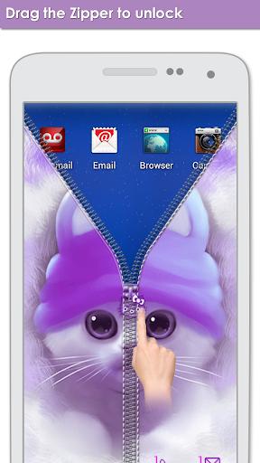 無料个人化Appのかわいいキティジッパー運|記事Game
