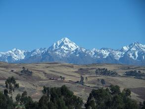 Photo: Anfahrt von Cusco zum Startplatz der mountainbiketour