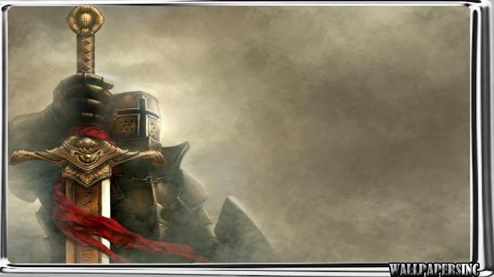 Medieval Shield Wallpaper