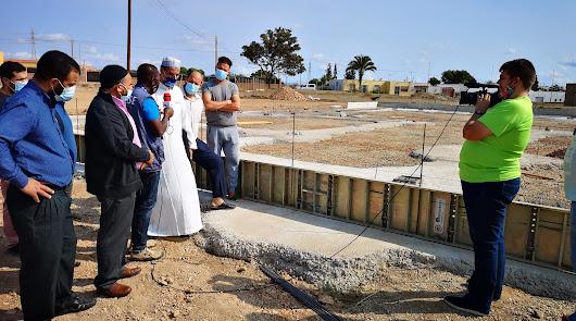 La mayor mezquita musulmana de Almería ya está en construcción en San Isidro