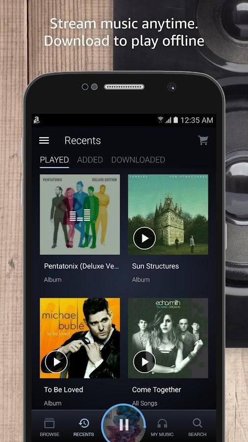 amazon offline playlist online stellen