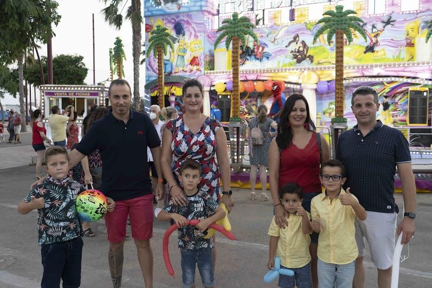 Familia Puertas Sánchez y Familia Molina Barea