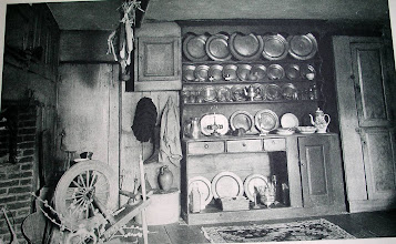 Photo: Kitchen of Tristram Coffin house, a 1683 addition