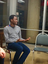Photo: 4.17.15 Bisi Alimi speaking about LGBT rights in Nigeria, at the DC Center, in Washington, DC