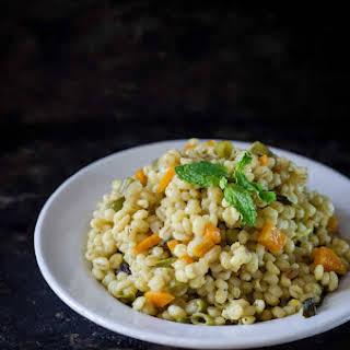 Vegetable & Barley Pulao / Pilaf.