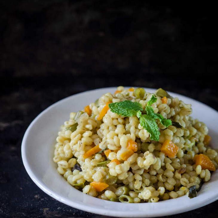 Vegetable & Barley Pulao / Pilaf