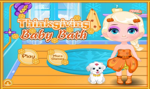 Thinkgiving Baby Bath