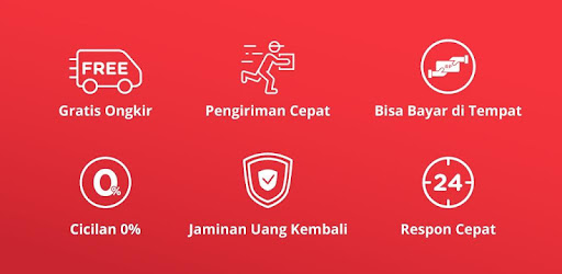 Enjoy your online shopping experience through official JD.ID mobile App