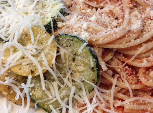 If You Love Fresh Zucchini And Squash This Recipe Is One You'll Love. Yummy Flavors Make This Dish Enjoyable.  Cheeses Make It Melt I. Your Mouth Delicious.  A Must Try!