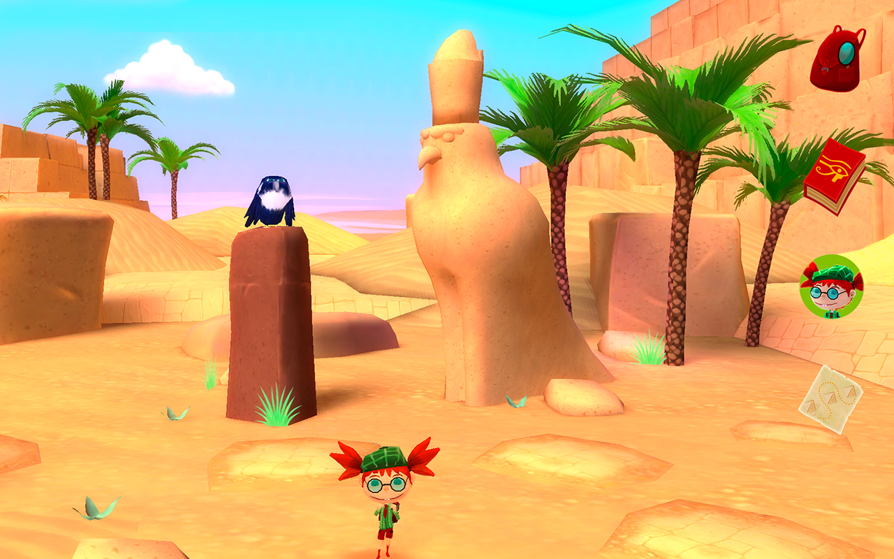 Charlotte and the Sphinx- screenshot