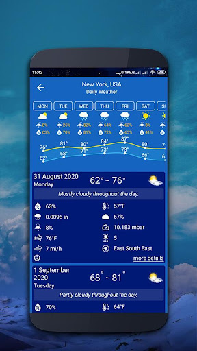 Weather map screenshot 5