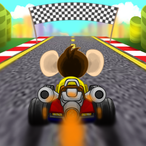 Monkey Kart game (apk) free download for Android/PC/Windows