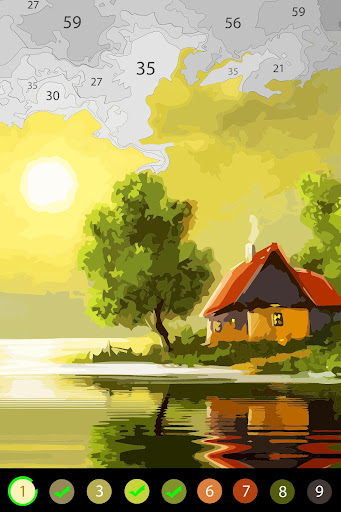Oil Painting by Color Planet - Free Art by Number apkmr screenshots 11