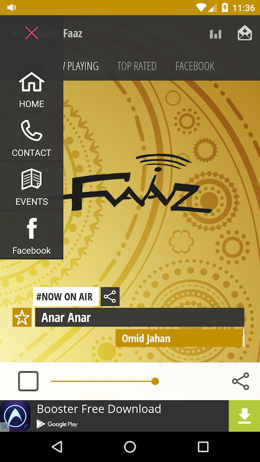 Radio Faaz- screenshot