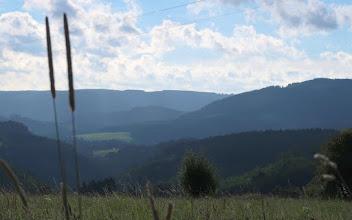 Photo: À droite : le mont Victor (près de Coo)