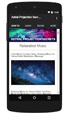 Astral Projection Secrets screenshot thumbnail
