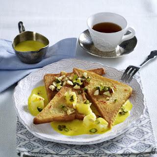 Spiced Pineapple Toast