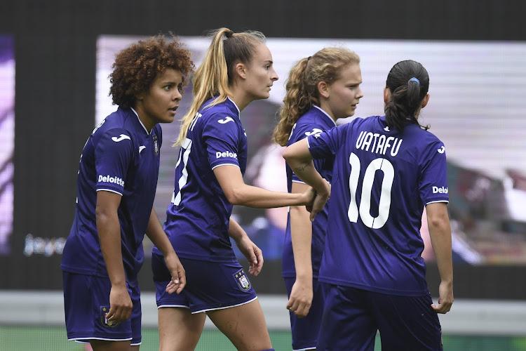 Ligue des Champions féminine : Anderlecht se fait éliminer par Benfica