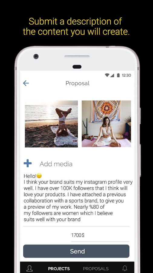 CreatorDen - Brand Collaborations for Influencers- screenshot