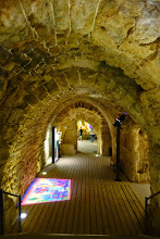 Photo: Inside the fortifications.