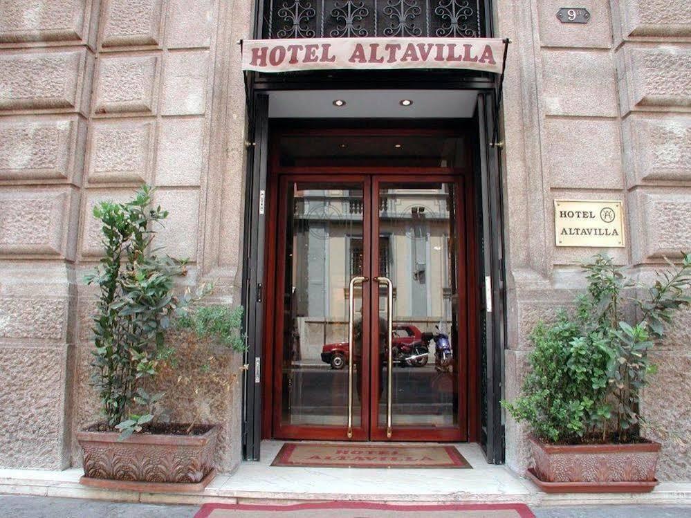 Hotel Altavilla in historisch centrum