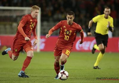 🎥 12 ans déjà: les grands débuts d'Eden Hazard avec les Diables Rouges