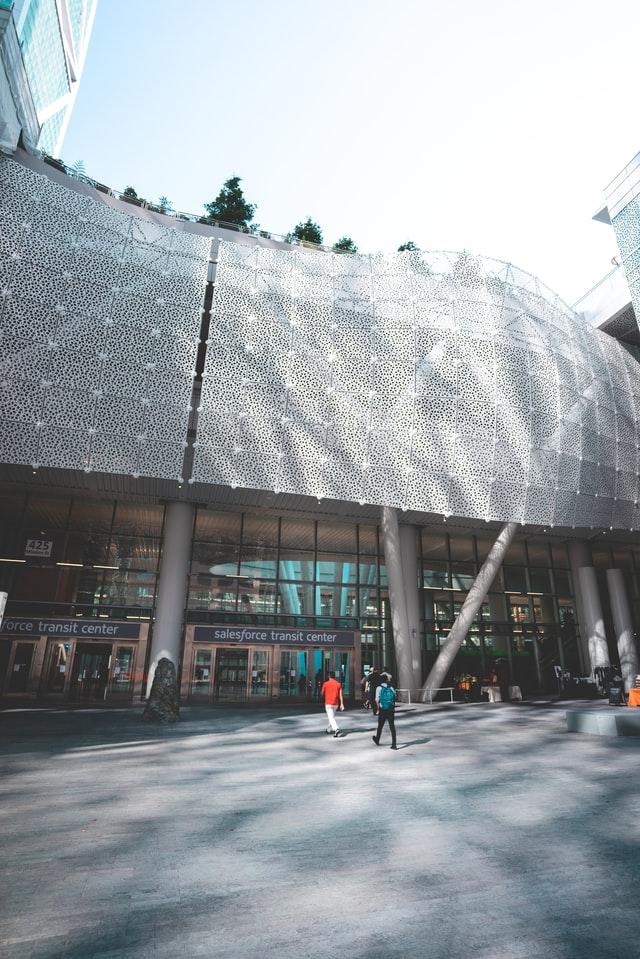SalesForce transit center, San Francisco, United States.