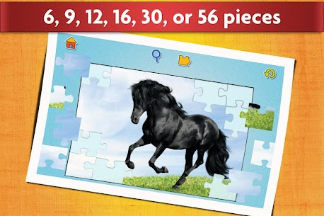 Horse Jigsaw Puzzles Game – For Kids & Adults 🐴 3