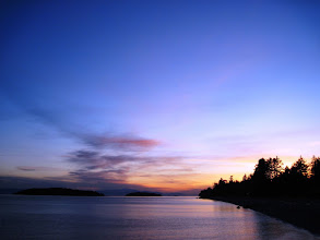 Photo: Another Sechelt Sunset  and I sign off for the night. I'll be getting up early to try to put the finishing touches on my first photobook. Kinda intimidating, daunting, exciting, freaky, hooray. So a lot like a microcosm of life ;) lol :)  I hope you all have a great evening, wonderfilled dreams, and a great day :)  Thanks for sharing the awesome with me :) J