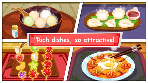 Panda Chef, Chinese Recipes-Cooking Game for Kids Applications (apk) téléchargement gratuit pour Android/PC/Windows screenshot