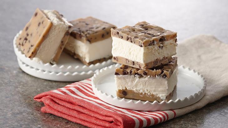 No Bake Cookie Dough Ice Cream Sandwich Recipe