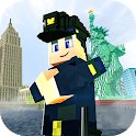 New York City Craft: Blocky NYC Building Game 3D icon