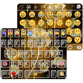 Gold Rose Message Theme