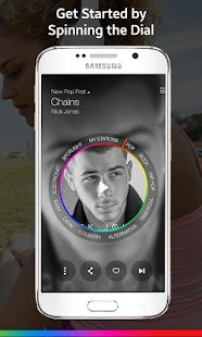 Samsung Milk Music Screenshot 3