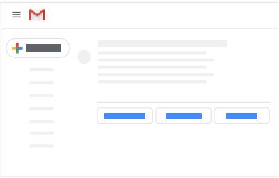 Des réponses suggérées dans les réponses aux email