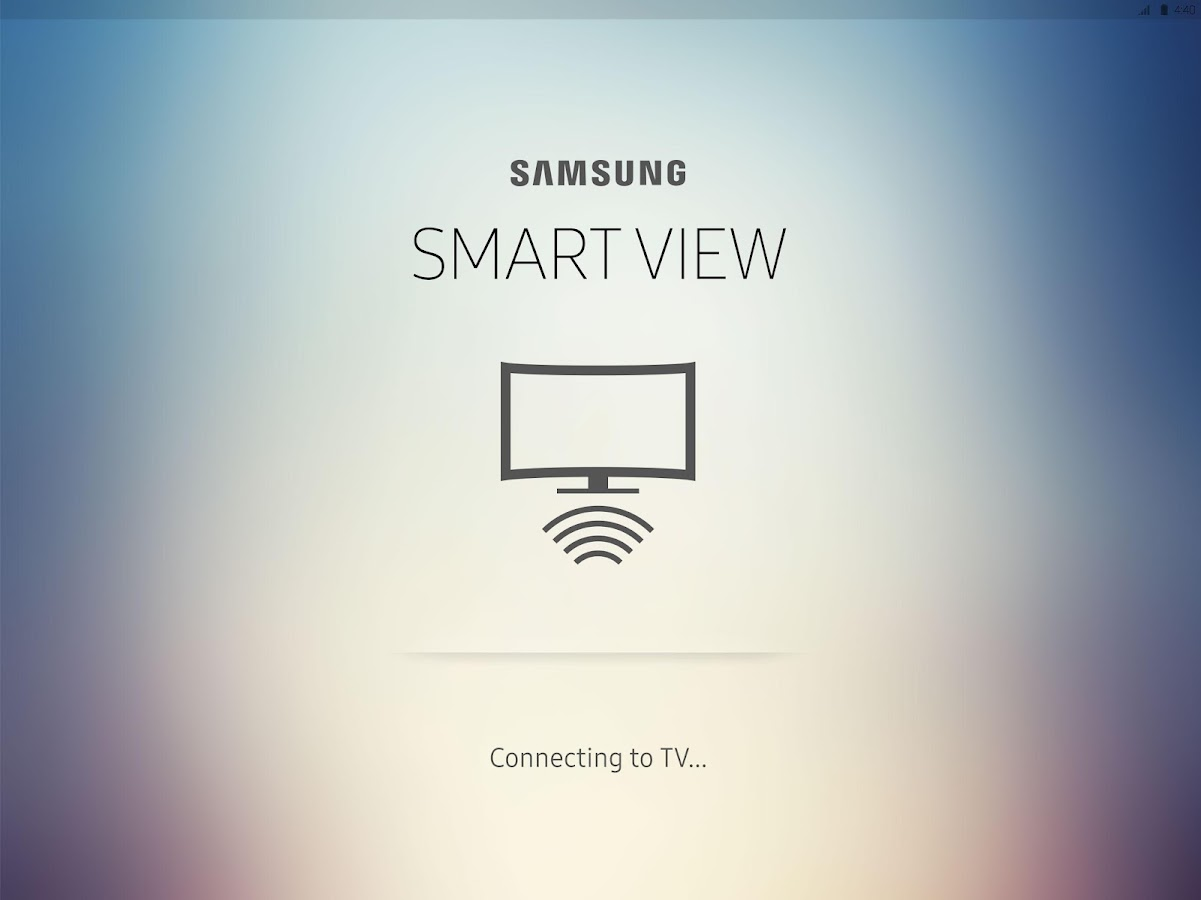 Samsung Smart View – Capture d'écran