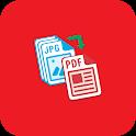 Image to Pdf Conveter free Text to PDF (INDIAN) icon