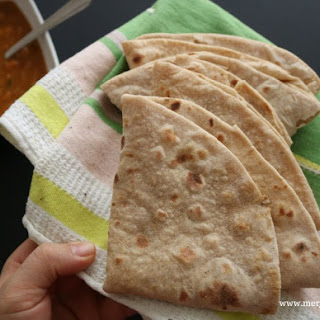 Wholemeal Chapatis.