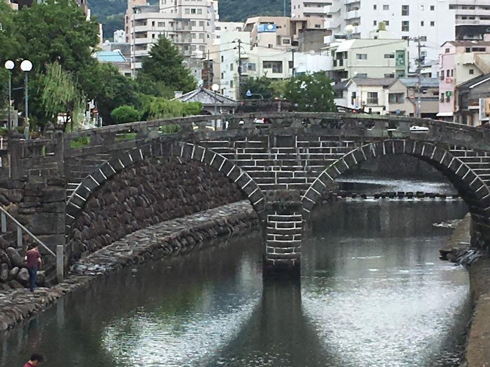 長崎観光の定番でもある眼鏡橋