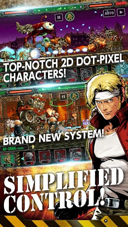 METAL SLUG ATTACK 2.1.0 (Infinite AP) Apk