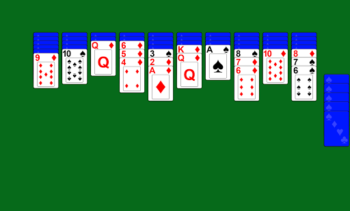 Spider Solitaire screenshot 3