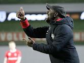 Claude Makelele soulagé après la victoire d'Eupen à Charleroi