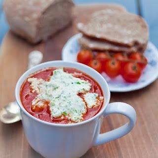 Tomato Red Pepper Soup.
