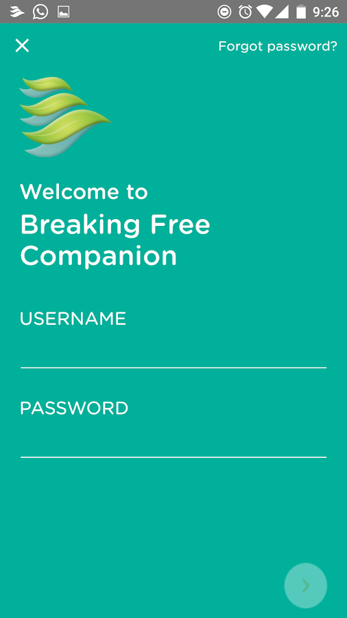 Breaking Free Companion- screenshot